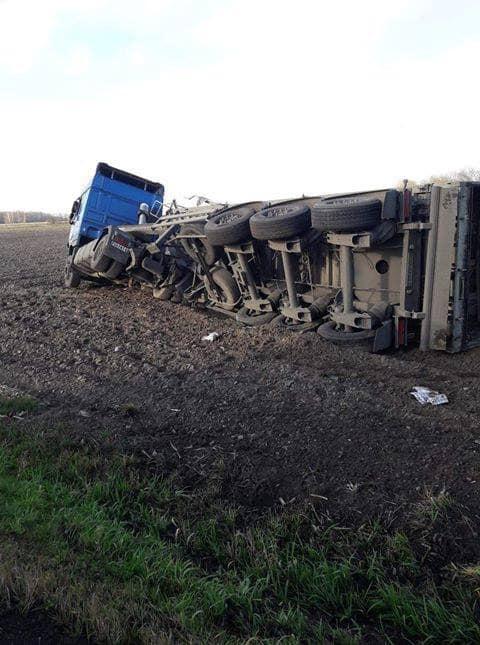 ALARM 1251 03.12.2019 Wypadek drogowy. Zderzenie samochodu ciezarowego z.xx&oh=02617bc5412cb451fa63d85b5c7e523b&oe=5E90E7FC - ALARM   12:51   03.12.2019    Wypadek drogowy. Zderzenie samochodu ciężarowego z...