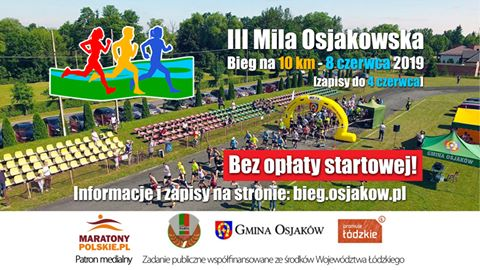 Mila Osjakowska - bieg na 10 km