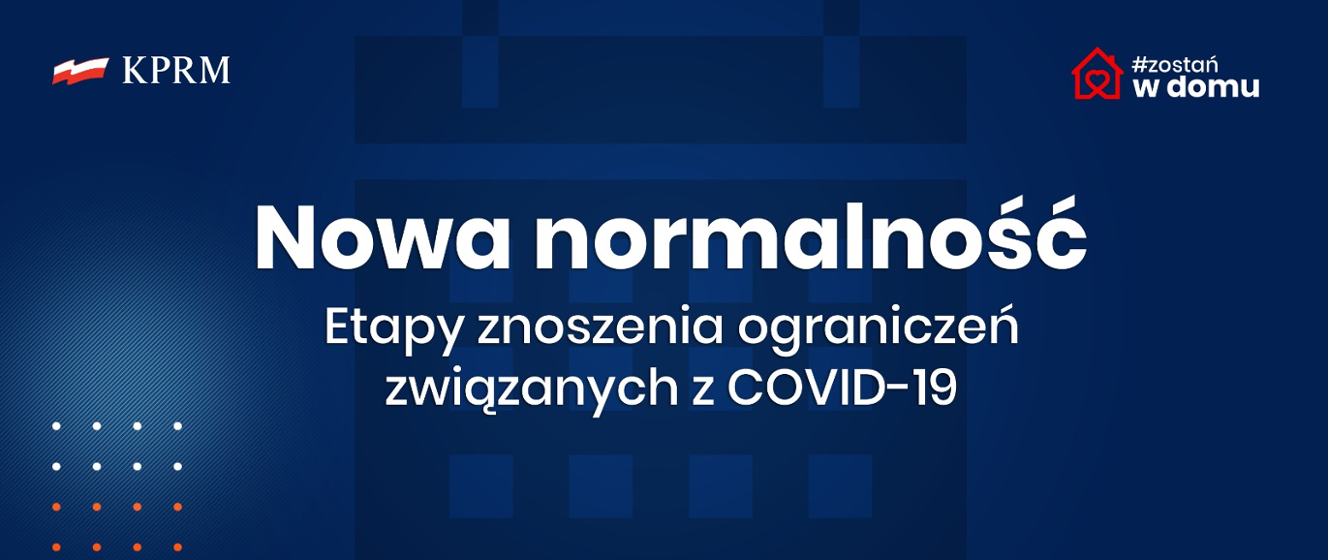 Nowa normalność: etapy znoszenia ograniczeń związanych z COVID-19 - Koronawirus: informacje i zalecenia - Portal Gov.pl