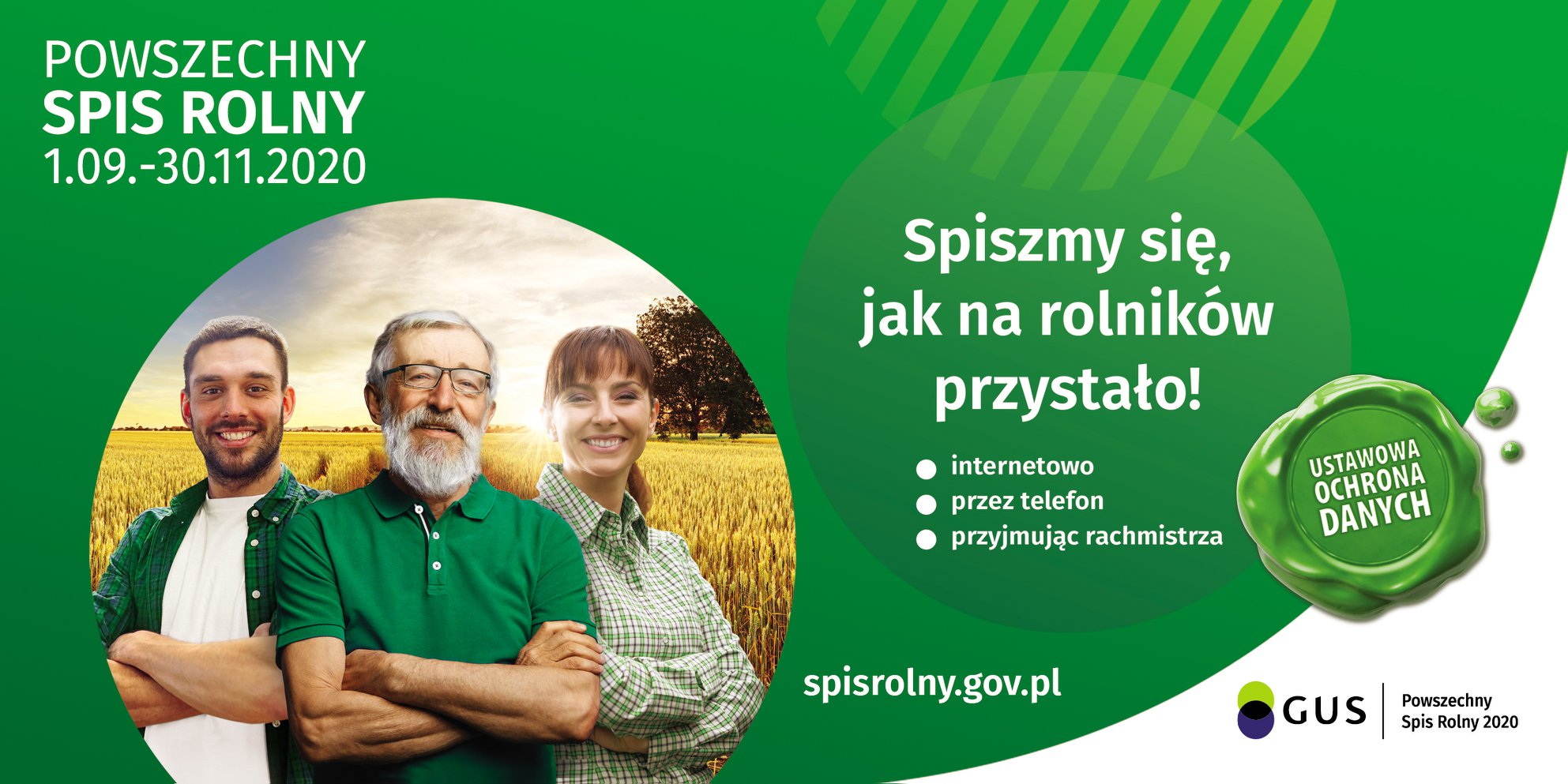 POWSZECHNY SPIS ROLNY 2020  Powszechny Spis Rolny 2020 zostanie przeprowadzony w...