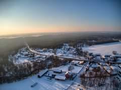 Może być zdjęciem przedstawiającym śnieg, przyroda i niebo
