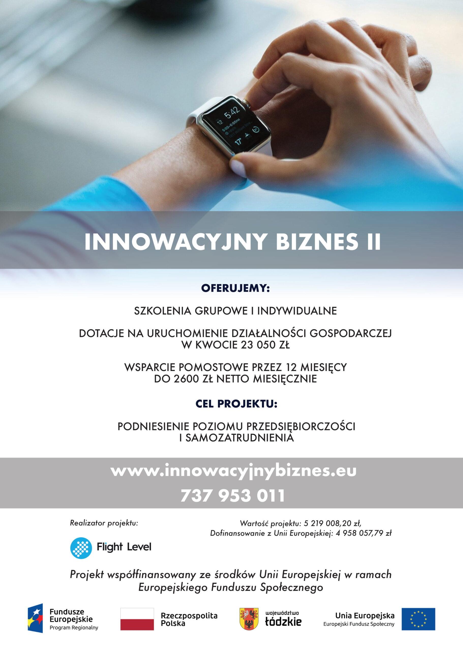 plakat innowacyjny biznes II 1 scaled - Strona główna